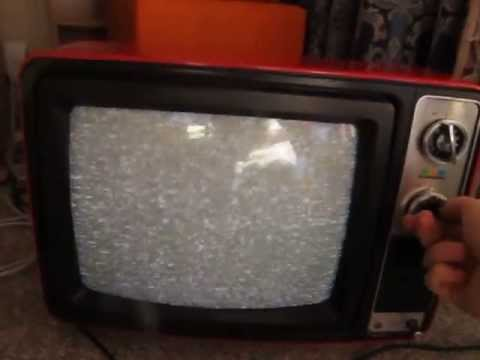 1970's General GC-141 portable television