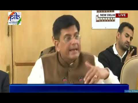 Union Minister Piyush Goyal speaks on Commercial Coal Mining