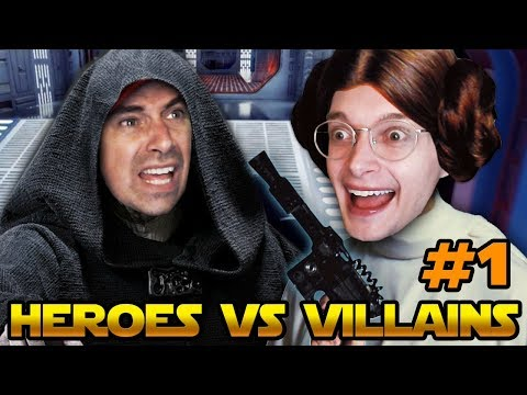 SPACE IS SO PRETTY - Star Wars Battlefront 2 (Heroes VS Villains) - PART 1 thumbnail