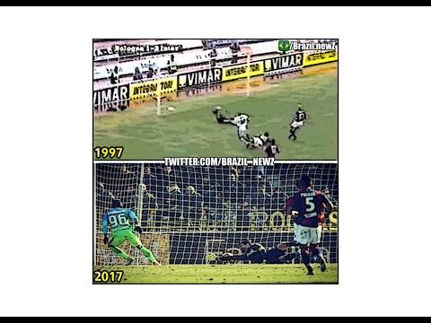 1997 Ronaldo 1st goal vs 2017 Gabigol 1st goal