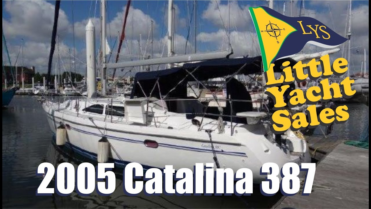2005 Catalina 387 Sailboat for sale at Little Yacht Sales, Kemah Texas