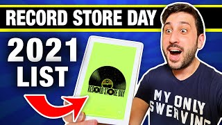 The record store day 2021 list is out and i'm here to do my yearly analysis, telling you what titles should be on your radar, which ones shouldn't exist ...