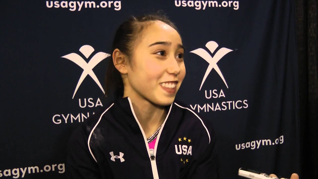 Katelyn Ohashi: Katelyn Ohashi After Winning The 2013 AT&T American Cup