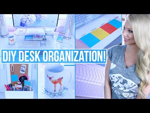 Diy Desk Organization Decor Ideas