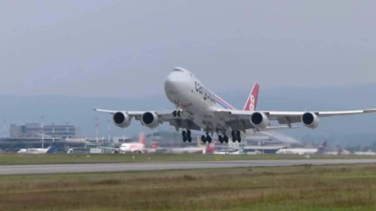 Cargolux Boeing 747 8 Bsl 5 9 2012 Youtube