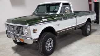 72 Chevy Cheyenne Super, 4 speed, a/c, 4x4, for sale in Texas, Sold