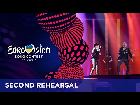 Valentina Monetta & Jimmie Wilson - Spirit Of The Night (San Marino) EXCLUSIVE Rehearsal footage