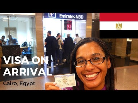 How To Get An Egypt Tourist Visa On Arrival | $25USD