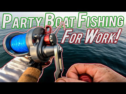 Working On A Party Boat Tautog Fishing Rhode Island!