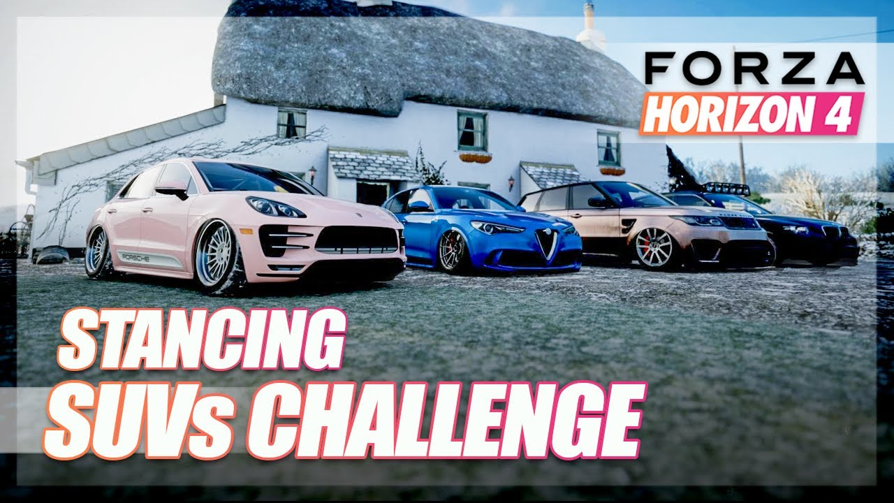 Forza Horizon 4 - Will it Stance? Stancing SUVs Challenge thumbnail