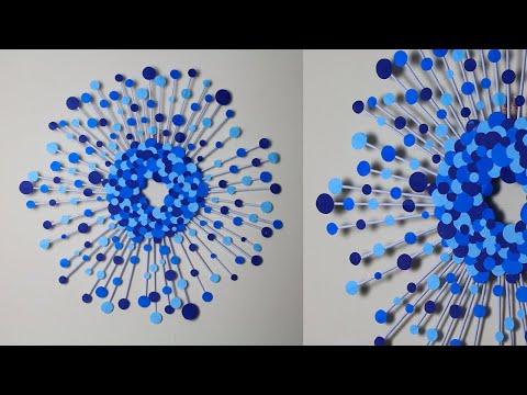 beautiful-paper-circle-wall-hanging-craft-|-room-decor-diy-|-wallmate-paper-crafts
