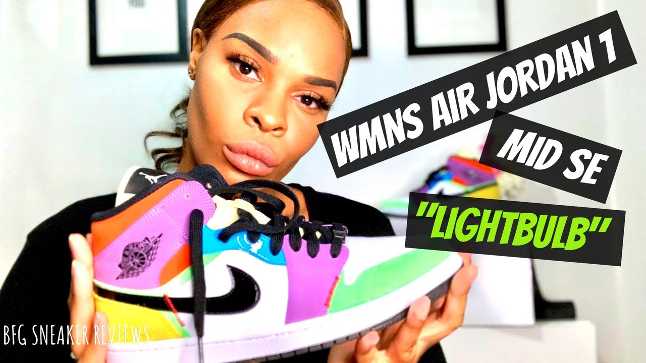 air jordan 1 mid lightbulb