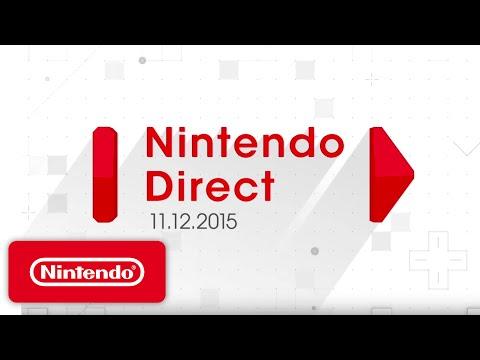Nintendo Direct Presentation - Mario, Zelda, Pokemon & More | Game Overviews (11/12/15)