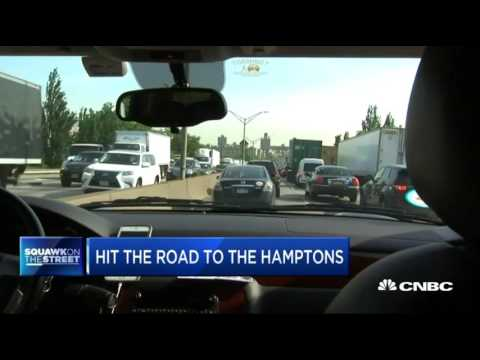 CNBC races BLADE and Uber from New York to The Hamptons