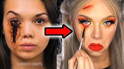 Makeup Artist Tries 5 MINUTE CRAFTS SFX Hacks