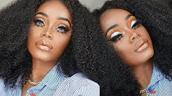Summer Curly Hair Series | Part 2 | Afro Kinky Curly | Natural 4B Curls!! | AliPearl Hair