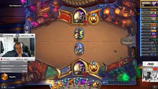 Your opponent plays legit against ThijsHS !! snipe ?? #Hearthstone Moment
