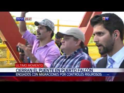 Tras Cierre De Puente Falcón, Argentina Suspende Controles Migratorios