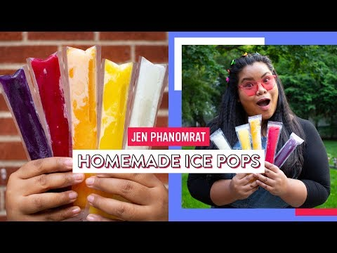 Homemade Ice Pops | Good Times With Jen