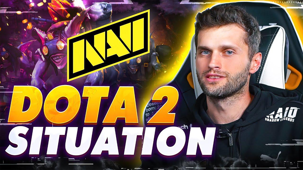 Download NAVI ХАОС о Ситуации с Dota 2 Составом (Кик Игроков, Квалы на The International 10, Будущее Команды)