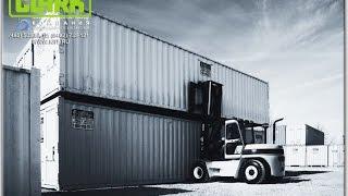 Вилочный погрузчик 7 тонн. Автопогрузчик разгружает контейнер(Купить вилочный автопогрузчик г/п 7 тонн, узнать цены, получить технические характеристики (фото и видео)..., 2015-04-28T05:29:33.000Z)