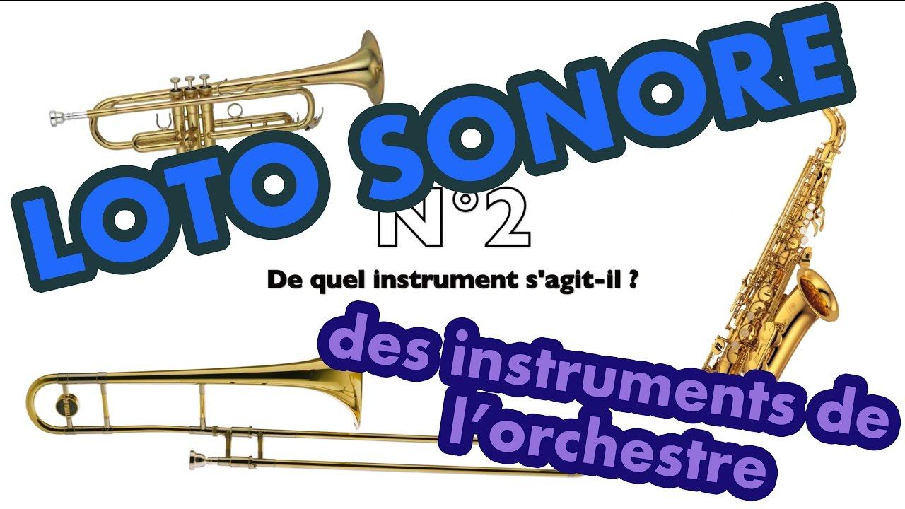 Loto sonore reconnaissance des timbres sons des for Instruments de musique dax