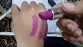 Coloressence lipsticks review