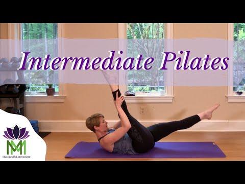 Intermediate Pilates Mat Workout--45 Minutes Total Body