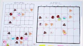 Period Tracker Calendar | HG Craft | HelloGiggles