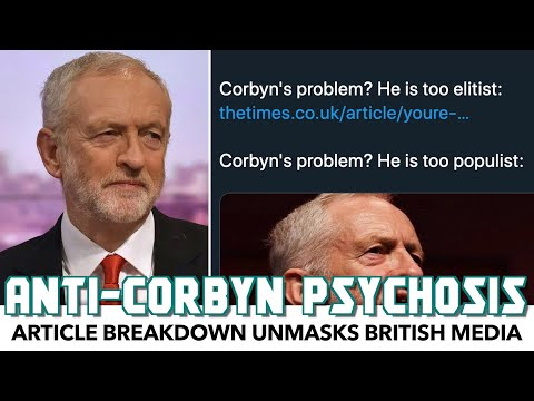 Evidence Shows Corbyn Gets Attacked No Matter What He Does