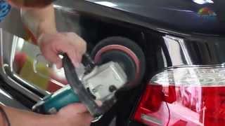 Восстановительная полировка кузова автомобиля с применением защитной полироли