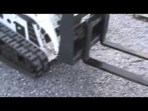 Cid Xtreme 36 Mini Skid Steer Pallet Forks For Bobcat Mt50 Mt52