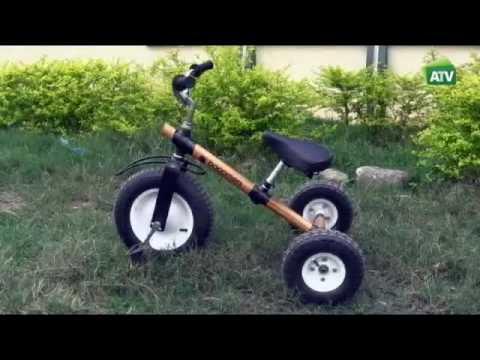 GHANA: Bicis de bambú. Aldea Global ATV, Canal Sur 26-05-2016