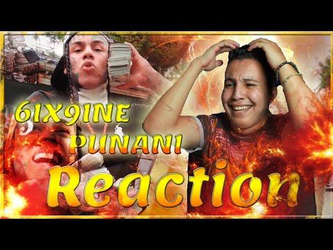 6IX9INE- PUNANI (Official Music Video) (Reaction)
