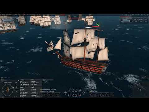 Naval Action: OW PvP- Russian v Swedes 1st-Rate Full Fleet Trafalgar-fest.