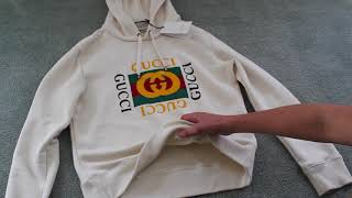 Gucci Vintage Logo Hoodie Review/ Unboxing
