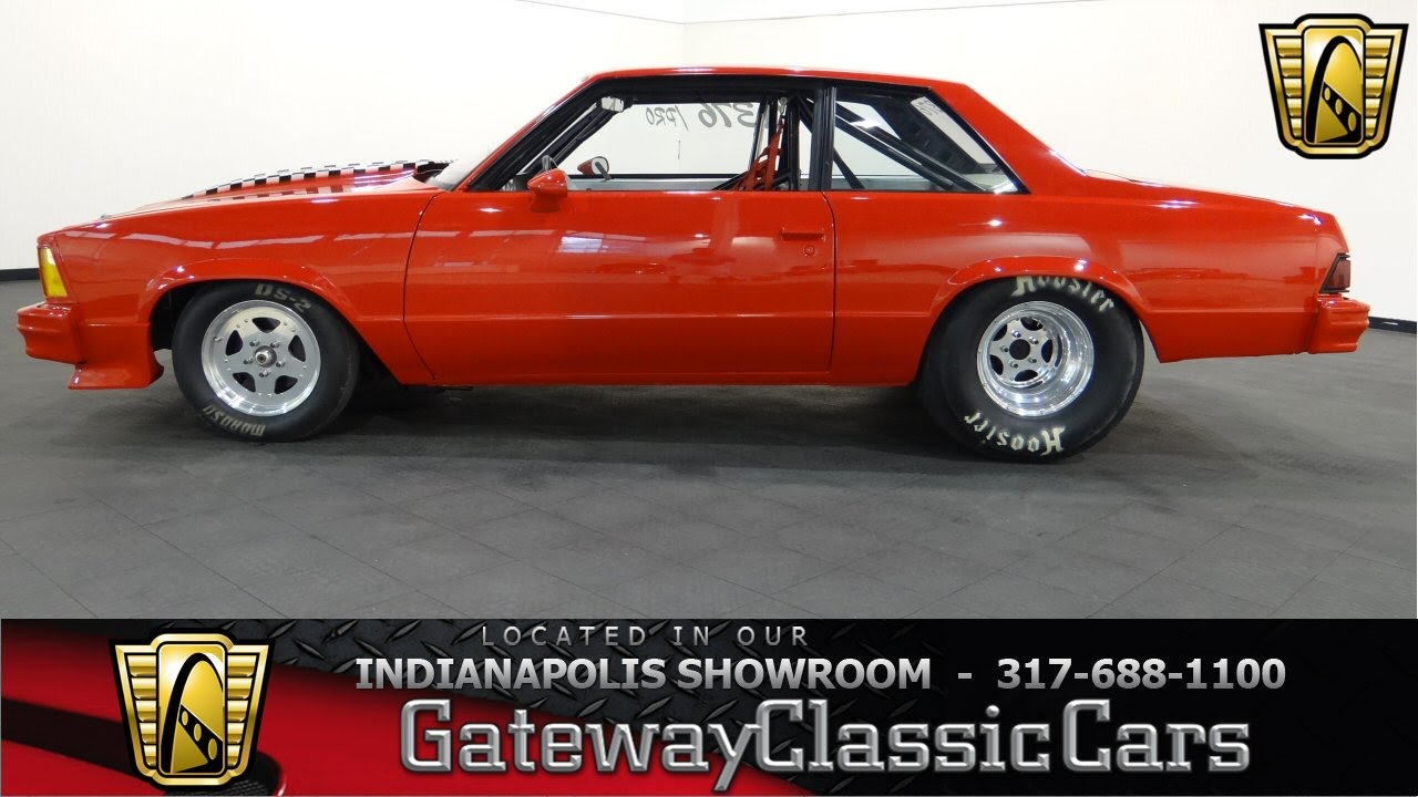 1978 Chevrolet Malibu Drag Car - Gateway Classic Cars Indianapolis ...