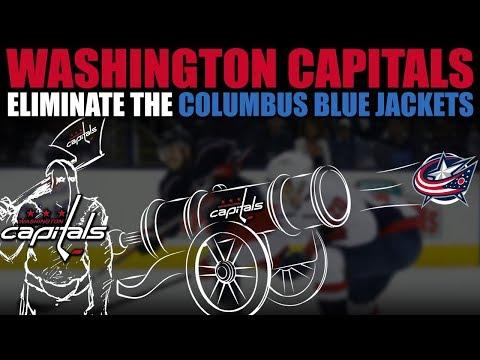 Washington Capitals Eliminate the Columbus Blue Jackets