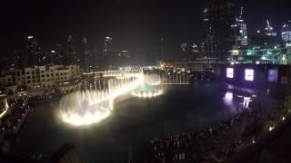 Dubai Fountains - Burj Khalifa (Michael Jackson - Thriller)