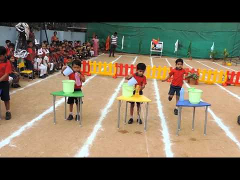 Adventurous Ostacle race @ Sports Day Pre Primary - Top CBSE Schools in Hyderabad