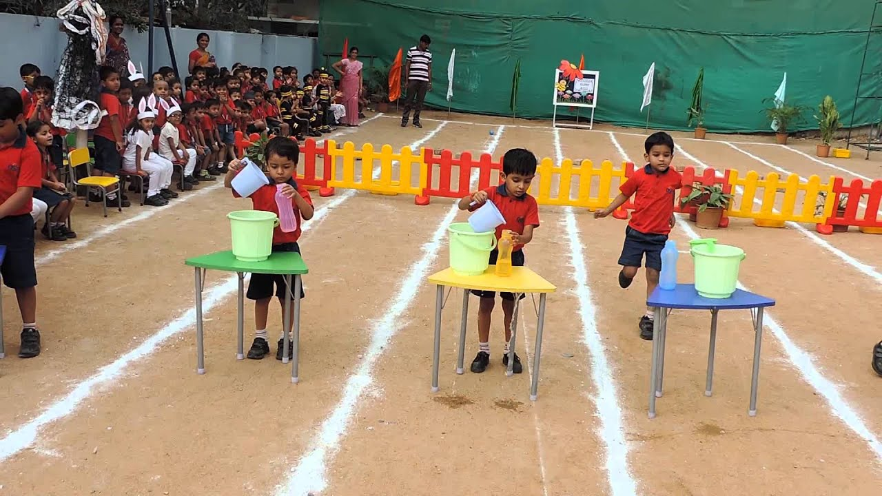 Adventurous Ostacle race @ Sports Day Pre Primary - Top CBSE Schools in  Hyderabad