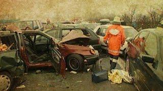 Massenkarambolage auf der A7 – SPIEGEL TV 2000