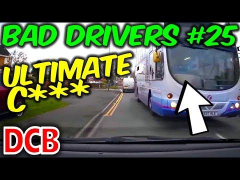 UK Dash Cam - Bad Drivers of Bristol #25