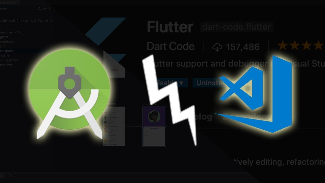 Android Studio Vs  VS Code for Flutter, Which IDE Is Better?