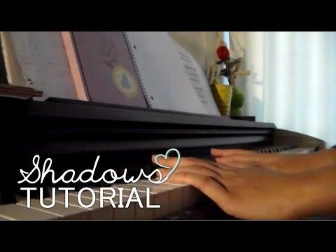 shadows (piano cover tutorial) - sabrina carpenter