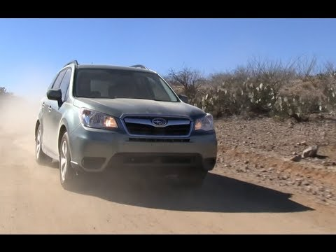 2014 Subaru Forester and XT Turbo 0-60 MPH First Drive Review