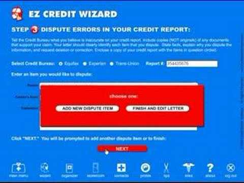 Credit-Aid: Do it yourself Credit Repair made easy! (PART 2)