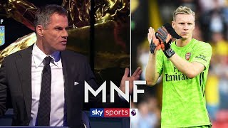 Why do Arsenal keep playing short goal kicks? | Jamie Carragher & Gary Neville | MNF