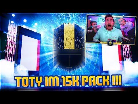 TOTY im 15K PACK GEZOGEN !! Simon RASTET KOMPLETT AUS !! FIFA 19