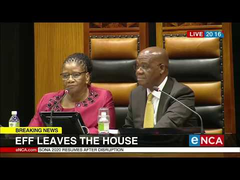 EFF leaves the House